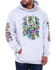 Men - Rainbow Rasta Hoodie (B&T)-2405941