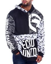 Ecko - Patch Work Hoodie (B&T)-2404036
