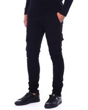 Men - Skinny Cargo Twill pant w Waterproof Zipper-2404812