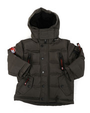 Arcade Styles - Canada Weather Gear Parka Jacket (2T-4T)-2404605