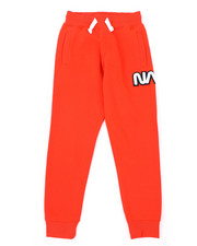 Arcade Styles - Fleece Pants W/ Chenille Patch (8-20)-2404978