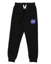 Sweatpants - Southpole x NASA Fleece Pants W/ Embroidery Patch (8-20)-2404960