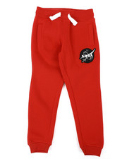 Sweatpants - Southpole x NASA Fleece Pants W/ Embroidery Patch (4-7)-2404953