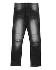 Bottoms - Flex Moto Denim Jeans (8-18)-2404359