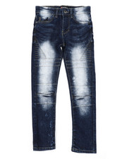 Bottoms - Flex Moto Denim Jeans (8-18)-2404366