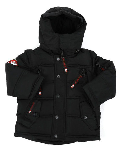Arcade Styles - Canada Weather Gear Parka Jacket (2T-4T)