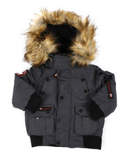 Outerwear - Canada Weather Gear Bomber Jacket (2T-4T)-2404478