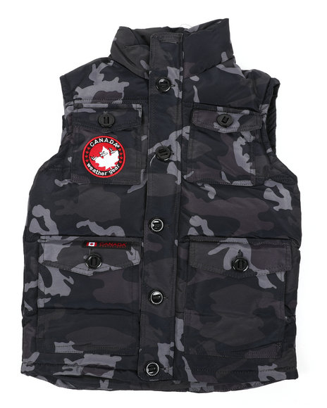 Arcade Styles - Canadian Weather Gear Puffer Vest (8-20)