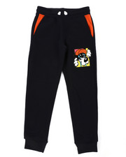 Sweatpants - Fleece Sweatpants W/ Chenille Patch (8-20)-2406323