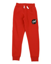 Sweatpants - Southpole x NASA Fleece Pants W/ Embroidery Patch (8-20)-2404917