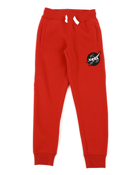 Arcade Styles - Southpole x NASA Fleece Pants W/ Embroidery Patch (8-20)