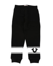Bottoms - TR Logo Stripe Sweatpants (4-7)-2406234