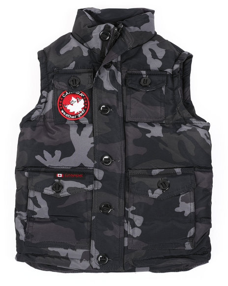 Arcade Styles - Canadian Weather Gear Puffer Vest (4-7)