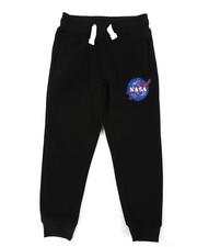 Sweatpants - Southpole x NASA Fleece Pants W/ Embroidery Patch (4-7)-2406183