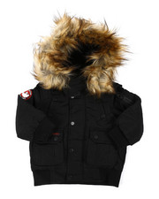 Outerwear - Canada Weather Gear Bomber Jacket (2T-4T)-2404629