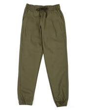 Arcade Styles - Twill Fashion Jogger Pants W/Drawstring Waistband (8-18)-2388776