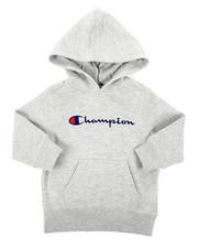 Champion - Classic Script CVC Hoodie (2T-4T)-2404428