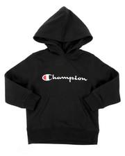 Champion - Classic Script CVC Hoodie (4-7)-2404423
