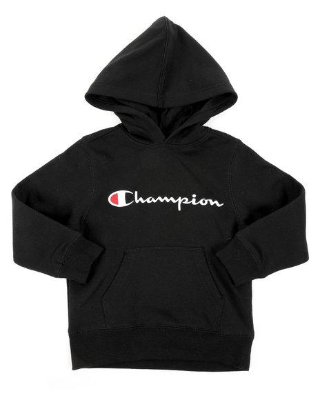 Champion - Classic Script CVC Hoodie (4-7)