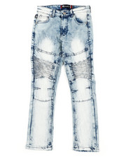 Jeans - Stretch Moto Jeans (8-18)-2407156