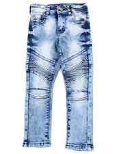 Bottoms - Stretch Moto Jeans (4-7)-2407145