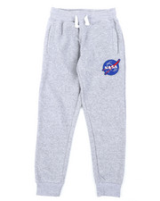 Sweatpants - Southpole x NASA Fleece Pants W/ Embroidery Patch (8-20)-2404968