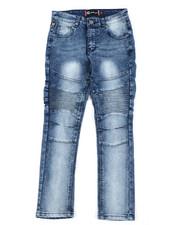 Jeans - Stretch Moto Jeans (8-18)-2407179