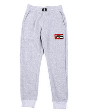 Sweatpants - Fleece Pants W/ Chenille Patch (8-20)-2406448