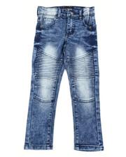 Bottoms - Stretch Moto Basic Jeans (4-7)-2407131