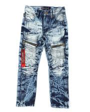 Akademiks - Zip Moto Jeans (4-7)-2407055
