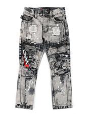 Akademiks - Zip Moto Jeans (4-7)-2407050