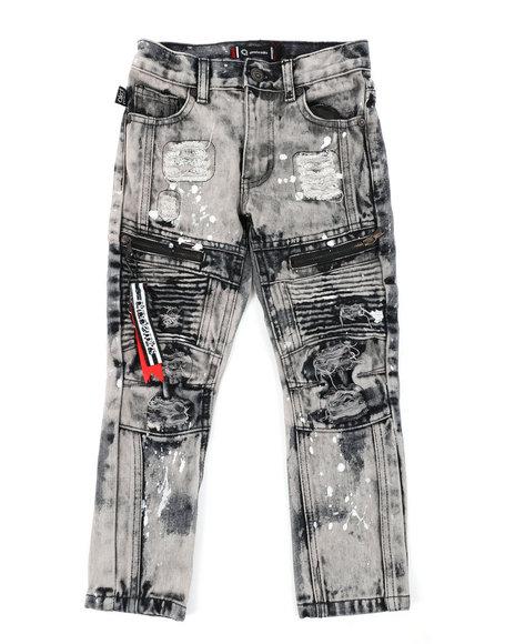 Akademiks - Zip Moto Jeans (4-7)