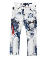 Akademiks - Zip Moto Jeans (4-7)-2407038