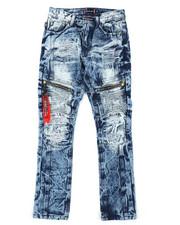 Akademiks - Zip Moto Jeans (8-18)-2407060
