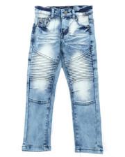 Bottoms - Stretch Moto Jeans (4-7)-2407140