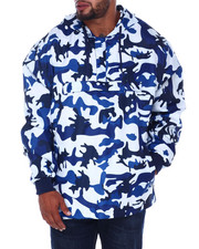NOTHIN' BUT NET - All Over Camo Printed Anorak Flight Jckt (B&T)-2407920