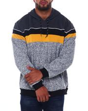 Buyers Picks - Solid Color Blocked Fleece Anorak Pullovers (B&T)-2407950