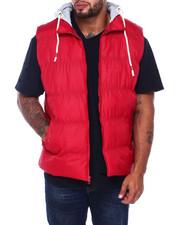 Vests - Vest w/ Fleece Hood Attached (B&T)-2408078