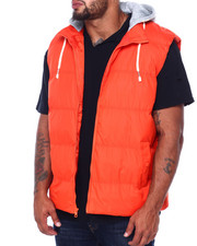 Holiday Shop - Vest w/ Fleece Hood Attached (B&T)-2408069