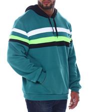 Buyers Picks - Fleece Color Blocked Pullover Hoodie (B&T)-2407983