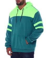 Buyers Picks - Solid Color Blocked Fleece Pullovers (B&T)-2408461