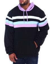 Big & Tall - Fleece Color Blocked Pullover Hoodie (B&T)-2407976
