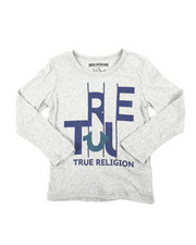 True Religion - TR Slice Long Sleeve Tee (4-7)-2405869