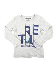 Tops - TR Slice Long Sleeve Tee (4-7)-2405869