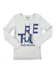 Tops - TR Slice Long Sleeve Tee (8-20)-2405874