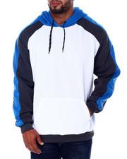 Buyers Picks - Color Block Piecing Fleece Anorak Pullovers (B&T)-2408413