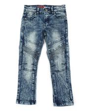 Bottoms - Stretch Moto Jeans (4-7)-2408179
