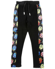 SWITCH - Pitbull Graphic Velour Cut Blocked Pants (8-20)-2407814