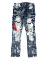 Jeans - Zip Moto Jeans (8-18)-2408073