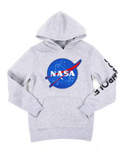 Hoodies - Pullover Fleece Hoodie W/ Chenille Patch (8-20)-2406126